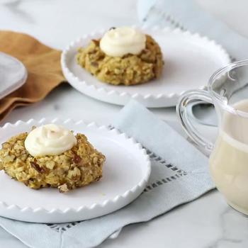 How to make Carrot-Cake Thumbprint Cookies