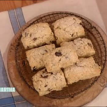 Dried Cherry Scones with Quaker Oats
