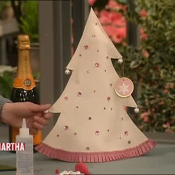 Festive Christmas Tree Bottle Covers