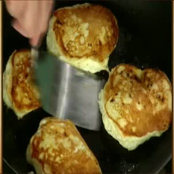 Martha Stewart's Cloud Pancake Recipe