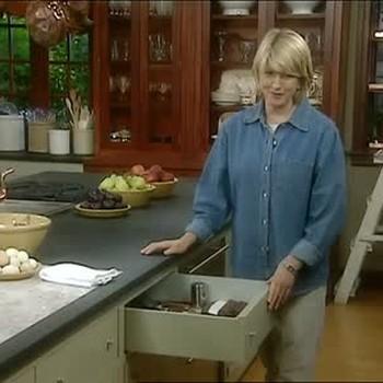 Martha Stewart's Kitchen Organization