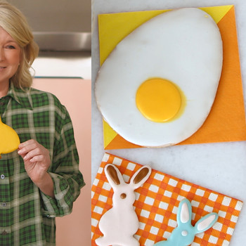 Watch Martha Make Her Favorite Easter Sugar Cookies
