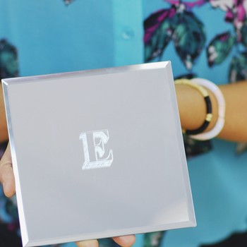 Personalized Monogram Etched Mirrors