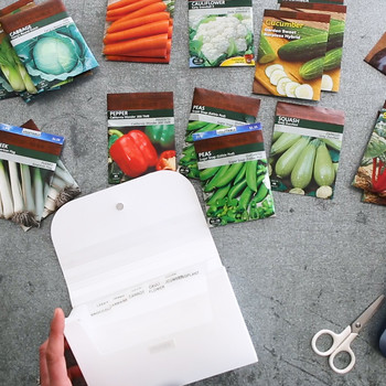 Create a Seed Packet Organizer Video