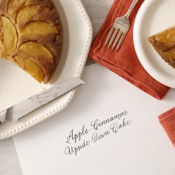 Cinnamon-Apple Upside-Down Cake
