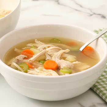 Classic Chicken-Vegetable Soup Video