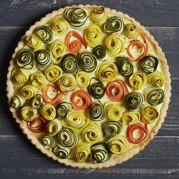 This Blooming Vegetable Quiche is the Most Beautiful Brunch Entree