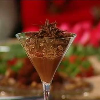 Chocolate Zabaglione with Raspberries