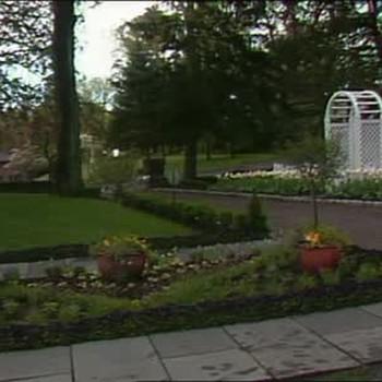 Farmhouse Garden and Porch Renovation