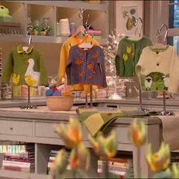 Handmade Spring Sweaters for Children