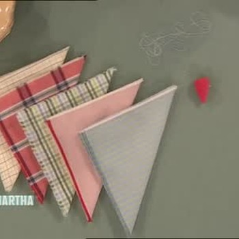 How to Rework Old Shirts Into Napkins