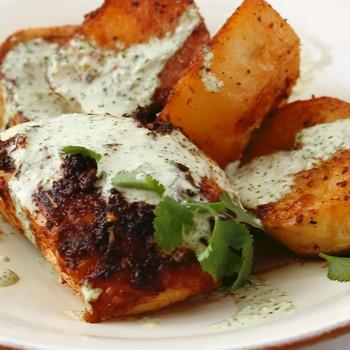 Video: Peruvian-Style Roast Chicken with Potatoes