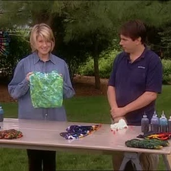 Tie Dye Color Application Tips, Part 2