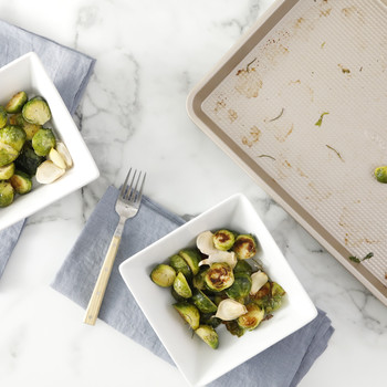 Simple Roasted Brussels Sprouts Video