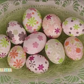 Good Things: Magnets and Decoupage Eggs
