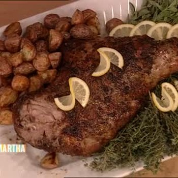 How to Make Roasted Leg of Lamb Part 2