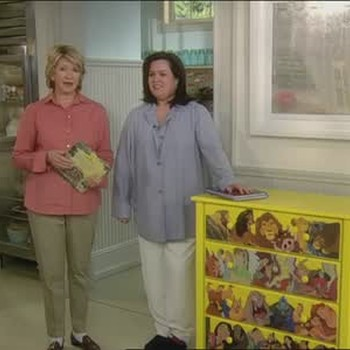 Learn to Decoupage with Rosie O'Donnell