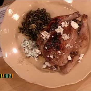 Pomegranate-Glazed Cornish Hens, Part 2