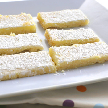 Refreshingly Tangy Lemon Square Recipe