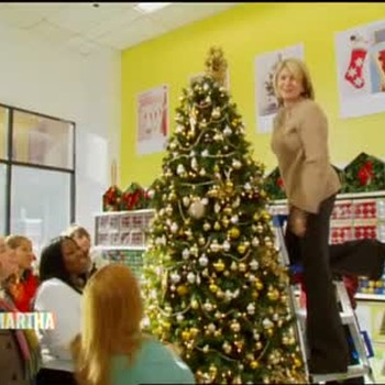A Visit to Kmart and Holiday Tree Decor