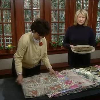 Bark Cloth Fabric With Claudia Glassman