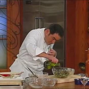 Calamari with Creole Olive Salad, Part 1