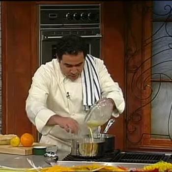 Emeril Lagasse Starts A Meyer Lemon Pie