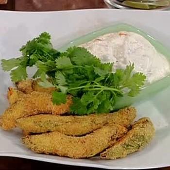 How to Fry Avocado and Make Puttanesca.