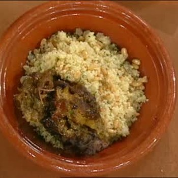 Moroccan Couscous, Lamb, and Tagine Sauce