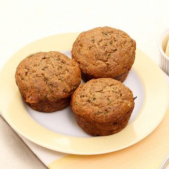 Zucchini-Banana Breakfast Muffin Recipe