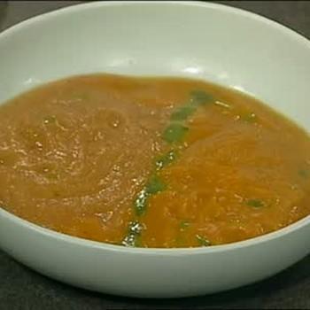Emeril's Butternut Squash Soup and Parsnip Soup, Part 2