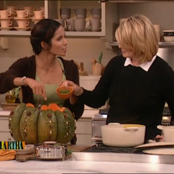 Butternut Squash Soup with Padma Lakshmi