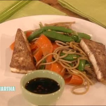 How to Cook Tofu and Soba Noodles, Part 2