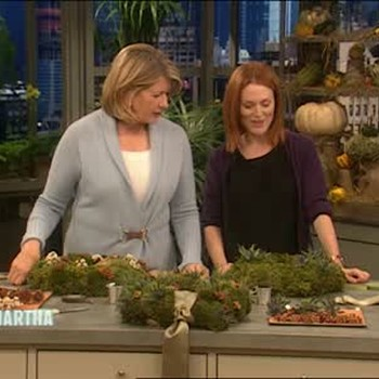 How To Make Cushion Moss Wreathes, Part 2