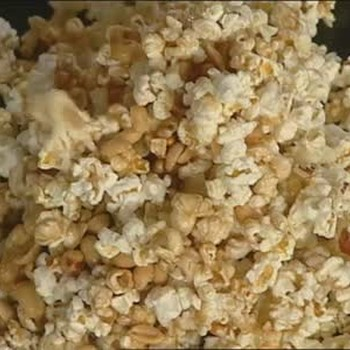 How to Make Microwave Nutty Caramel Corn