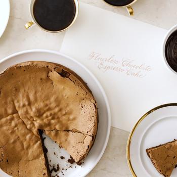 Flourless Chocolate Cake with Espresso
