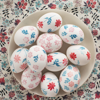 How-To Liberty Print Easter Egg Designs EH