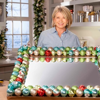 Ask Martha: How to Make an Ornament Mirror