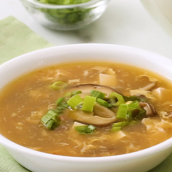 Hot and Sour Soup with Tofu Video