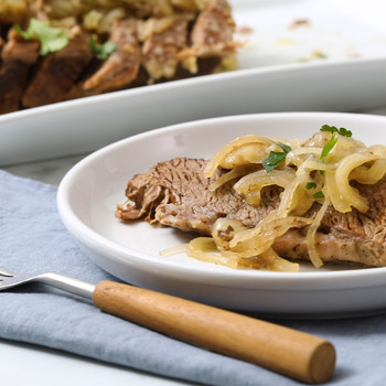 Slow-Cooker Brisket and Onions Video