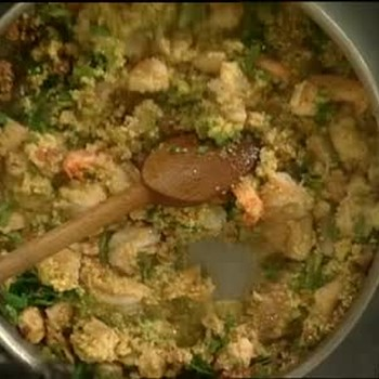 Chicken and Shrimp Jambalaya with Couscous