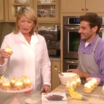 Creamy Coconut Cupcakes with Thomas Joseph