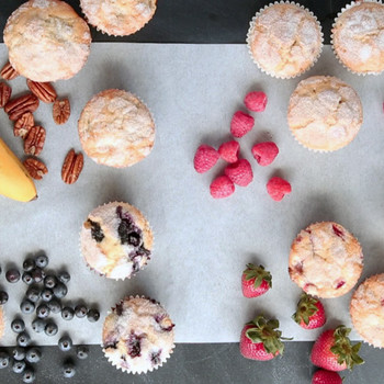 How to Make 4 Muffin Recipes from 1 Batter
