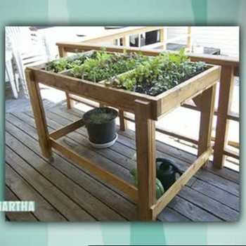 How to Make a Container Salad Garden Frame