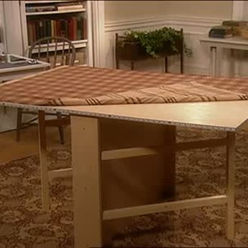 How to Make a Gate Leg Sewing Table, Part 2
