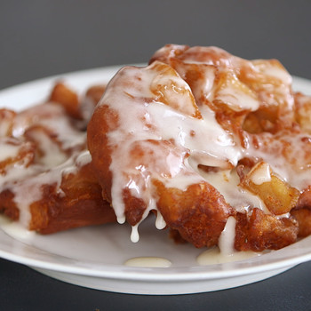 Hot and Crisp Apple Fritters Video
