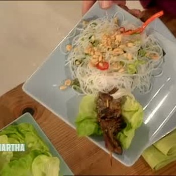 Lemongrass Beef Skewers and Noodles, Part 2