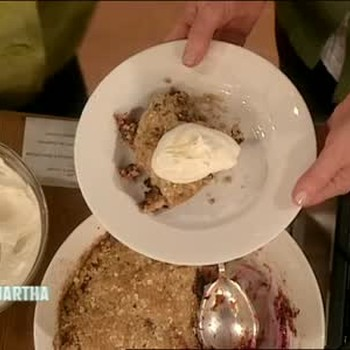 McCann's Fruit Crumble with Catherin Leyden