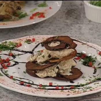 Oven Dried Apple Crisp with Tamarind Glaze