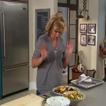 Pork Schnitzel and Fingerling Potato Salad